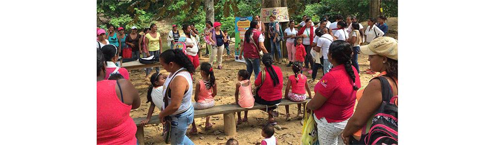 Mujeres de Tierralta conmemoran el día de las víctimas de violencia sexual
